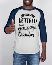 Funny I'm Not Retired Professional Baseball Tee apparel-baseball-tee-lifestyle-08