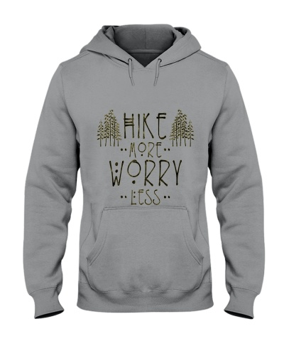 Hike More Worry Less Hiking Camping Outdoors