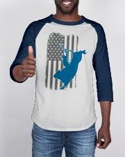 Bull Riding Rodeo Cowboy Vintage American Flag Baseball Tee apparel-baseball-tee-lifestyle-08