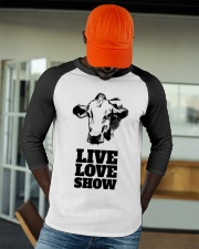 Cattle Show Live Love Show Fair Shirt Baseball Tee apparel-baseball-tee-lifestyle-09