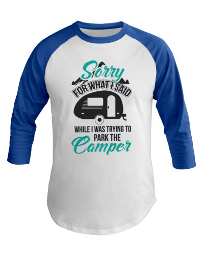 Funny Park the Camper RV Camping