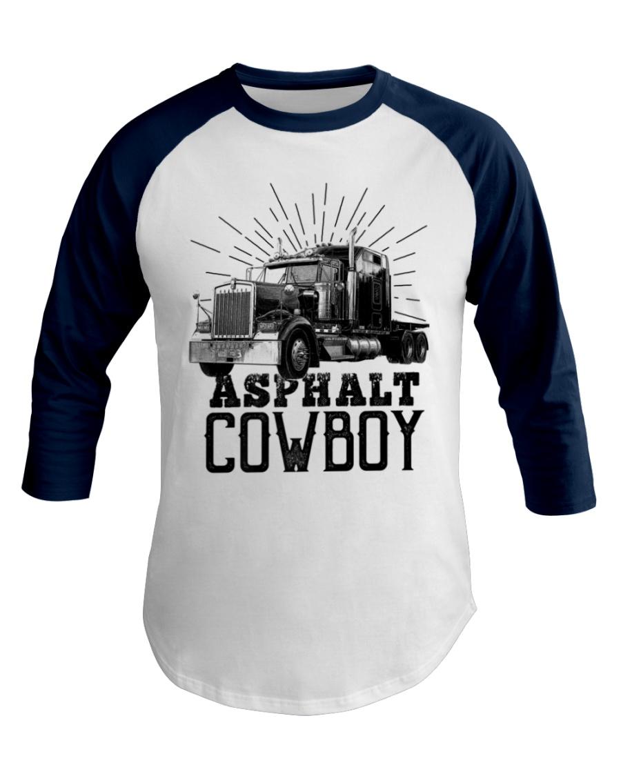 This Heart Belong Asphalt Cowboy Trucker Baseball Tee