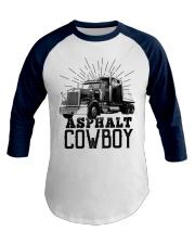 This Heart Belong Asphalt Cowboy Trucker Baseball Tee front