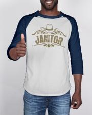 Cowboy Janitor with Cowboy Hat Baseball Tee apparel-baseball-tee-lifestyle-08