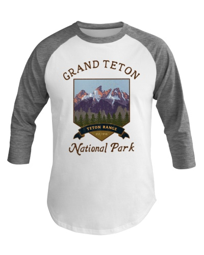 Grand Teton National Park Baseball Tee Hiking