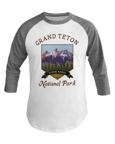 Grand Teton National Park Baseball Tee Hiking