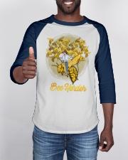 Awesome Beekeeper Gift Honeybee Cowboy Premium Baseball Tee apparel-baseball-tee-lifestyle-08