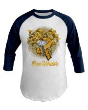 Awesome Beekeeper Gift Honeybee Cowboy Premium Baseball Tee front