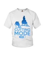 Cutting Horse Cutting Mode On Youth T-Shirt thumbnail