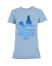 Cutting Horse Cutting Mode On Premium Fit Ladies Tee thumbnail