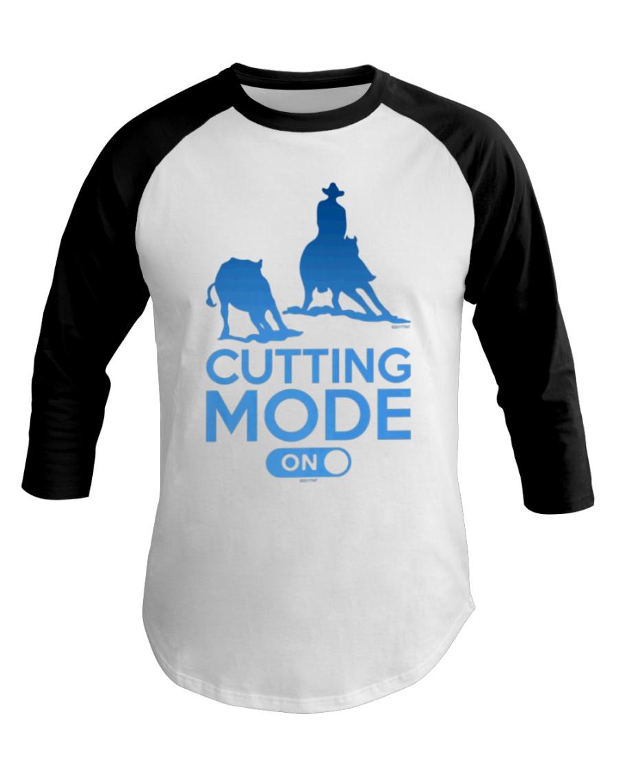 Cutting Horse Cutting Mode On Baseball Tee