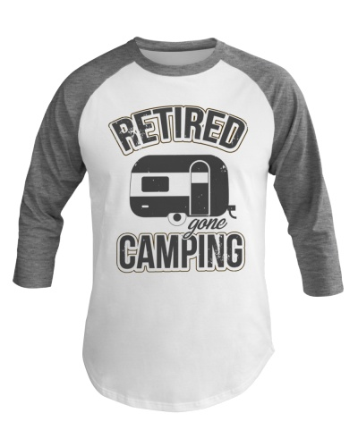 Funny Retired Gone Camping RV