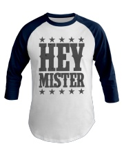 Hey Mister Funny Cowboy Gaming Premium Baseball Tee front