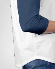 Hey Mister Funny Cowboy Gaming Premium Baseball Tee garment-baseball-tee-detail-right-hip-01