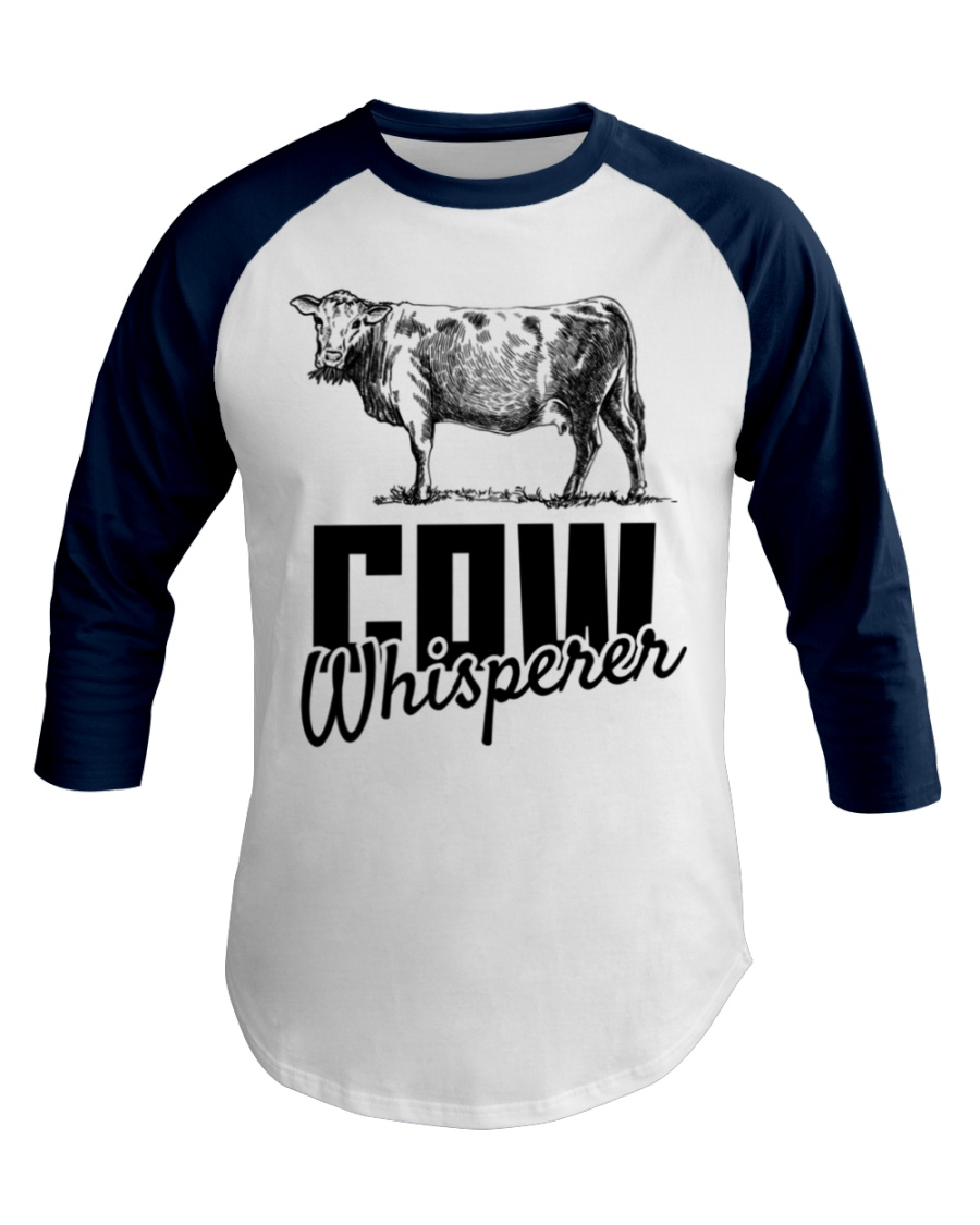 Cow Whisperer Love Cows Cowboy Cowgirl Baseball Tee