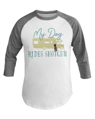 German Shorthaired Pointer Dog RV Funny Camping