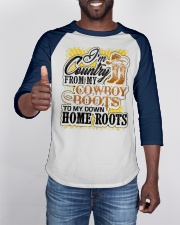 Country from Cowboy Boots To Roots Cowboys Gift Baseball Tee apparel-baseball-tee-lifestyle-08