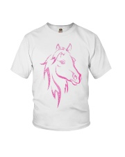 Equestrian Horse for Kids Children Funny Youth T-Shirt thumbnail