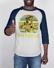 Benjamin Franklin Ben Drankin cowboy hat Beer Baseball Tee apparel-baseball-tee-lifestyle-08
