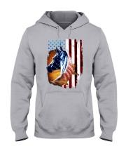 American Flag Horse Shirt 4th Of July Day Hooded Sweatshirt thumbnail