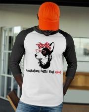 Australian Cattle Dog Mom Gift For Women Baseball Tee apparel-baseball-tee-lifestyle-09