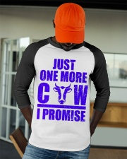 Just One More Cow I Promise for Cattle Ranchers Baseball Tee apparel-baseball-tee-lifestyle-09