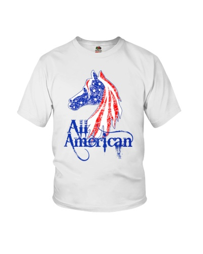All American USA Patriotic Horse