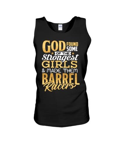 Barrel Racers God Made Strongest Girls Gifts