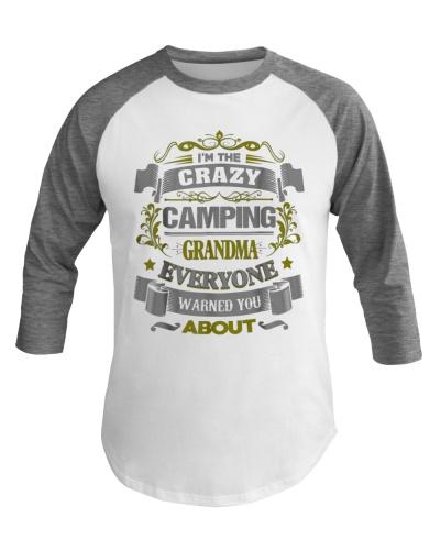 Cool Camping Grandma
