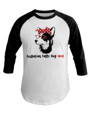 Australian Cattle Dog Mom Gift For Women Baseball Tee front
