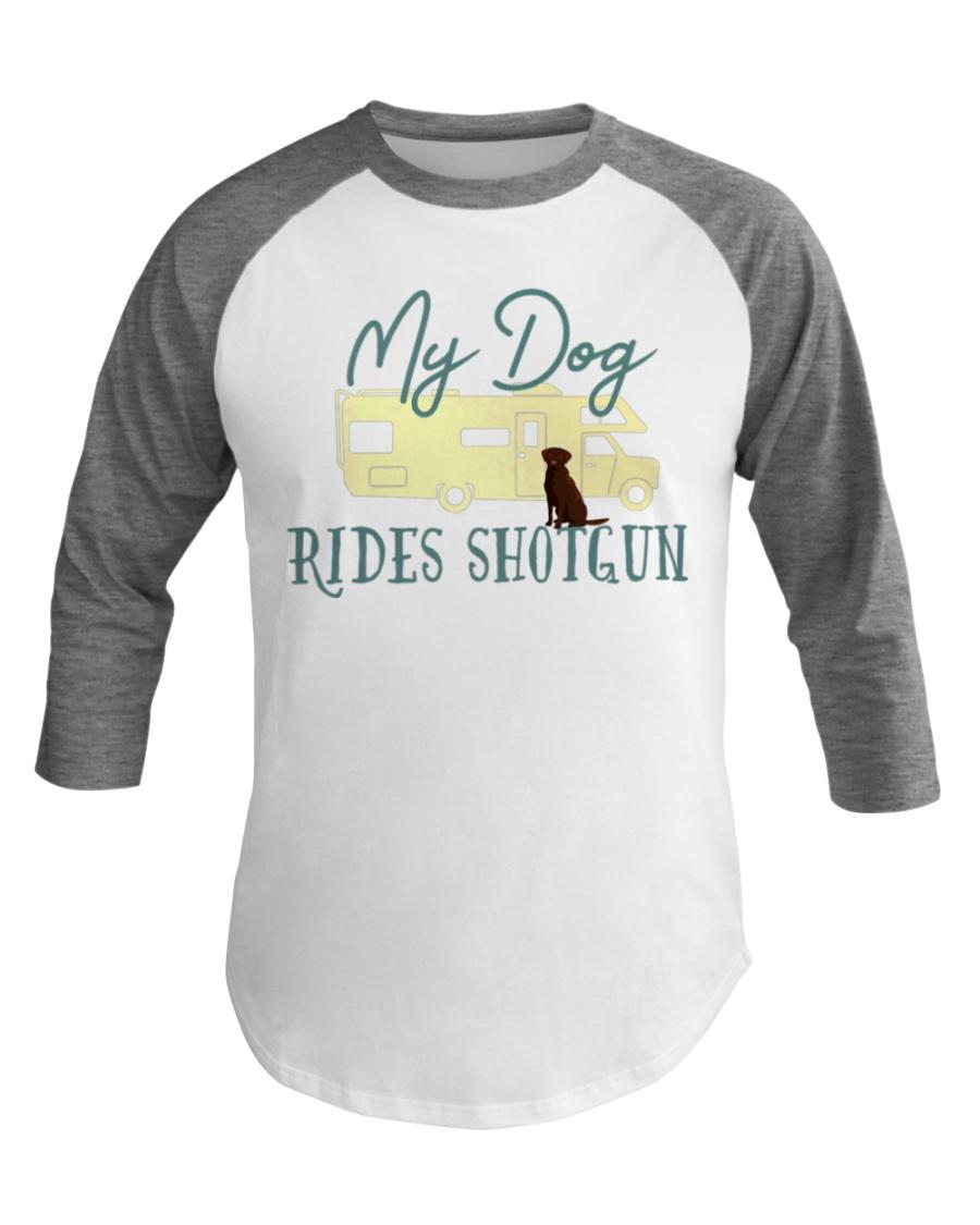 Chocolate Labrador Retriever Dog RV Baseball Tee