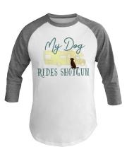 Chocolate Labrador Retriever Dog RV Baseball Tee front