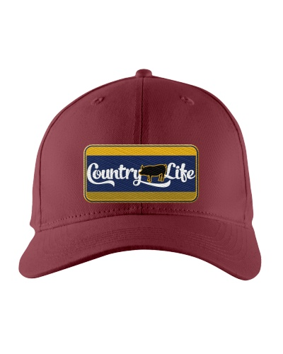 Country Hog Life Embroidery