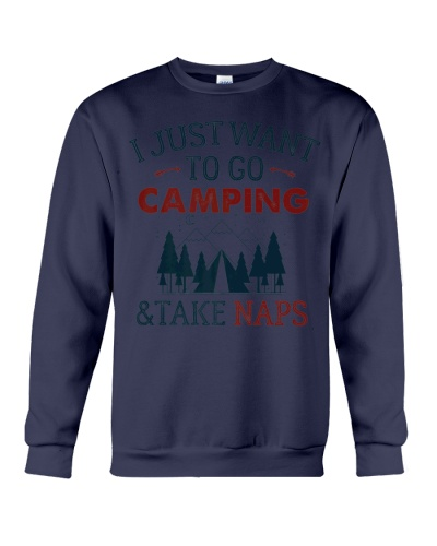 Funny Camping Naps Shirt Perfect Family Camp Lover