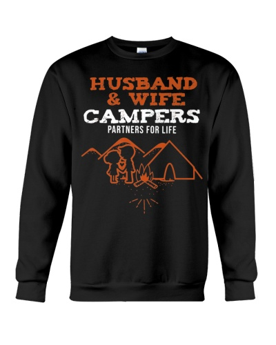 Husband Wife Campers Camping Partners For Life