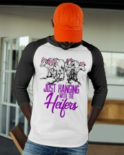Funny Just Hanging With My Heifers Cattle Baseball Tee apparel-baseball-tee-lifestyle-09