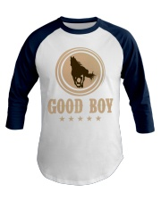 Good Boy Horse Lovers Funny Cowboy Gaming Premium Baseball Tee front
