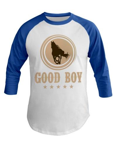 Good Boy Horse Lovers Funny Cowboy Gaming Premium