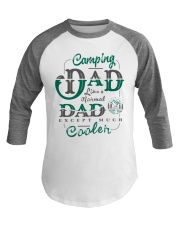 Camping Dad Gifts For Daddy Father Day Camper Baseball Tee front