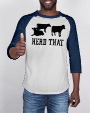 I Herd That Cowboy Rancher and Animal Farmers Baseball Tee apparel-baseball-tee-lifestyle-08