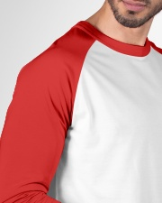 Colorado Flag Logo Elk Hunting Men Baseball Tee garment-baseball-tee-detail-front-sleeve-01