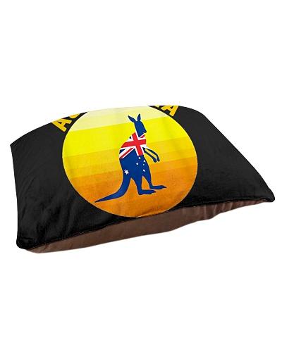 Retro Sun Australia Strong Kangaroo Support