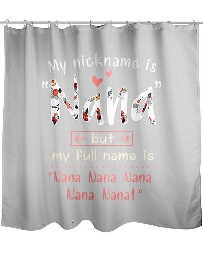 my nickname is Nana