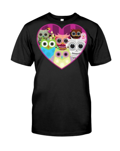 Love Owls  Pink