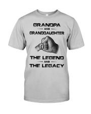 Grandpa - Granddaughter Classic T-Shirt front