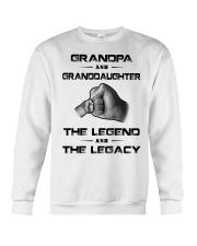 Grandpa - Granddaughter Crewneck Sweatshirt thumbnail