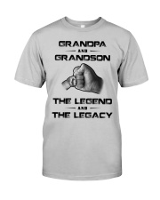 Grandpa - Grandson Classic T-Shirt front