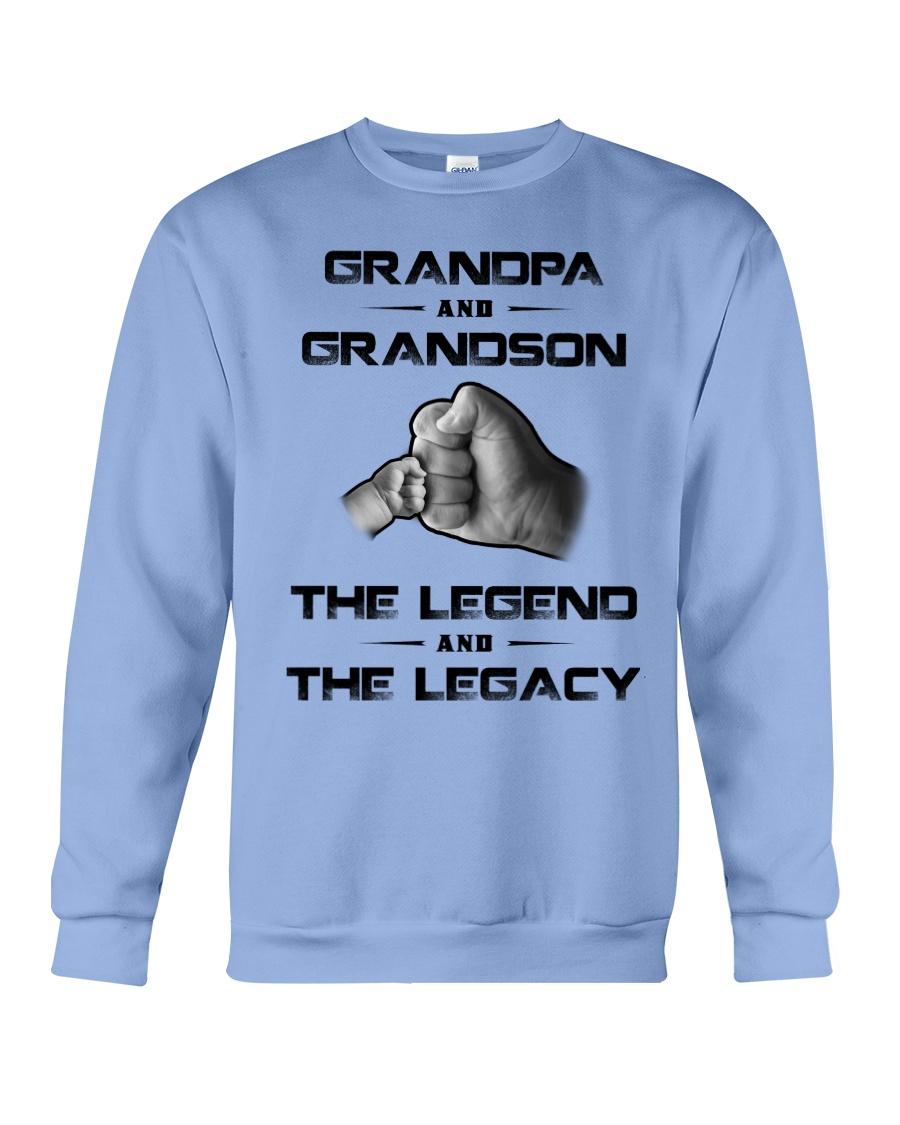 Grandpa - Grandson Crewneck Sweatshirt