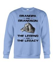 Grandpa - Grandson Crewneck Sweatshirt front