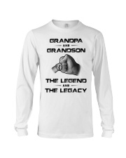Grandpa - Grandson Long Sleeve Tee thumbnail